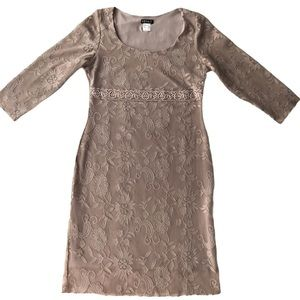 VENUS Lace Fitted dress.